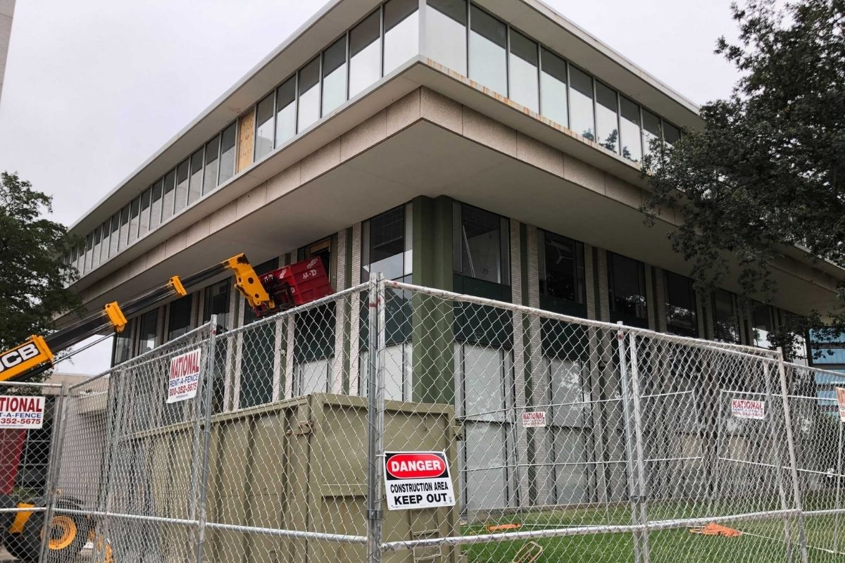 Constructino site of former Texas Neurology building to be converted to Caddo Office Reimagined