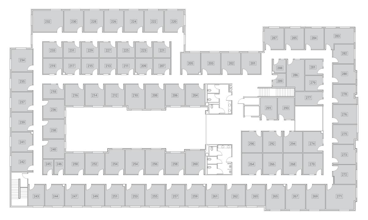 Caddo Office Reimagined Allen Office Spaces - Second Floor