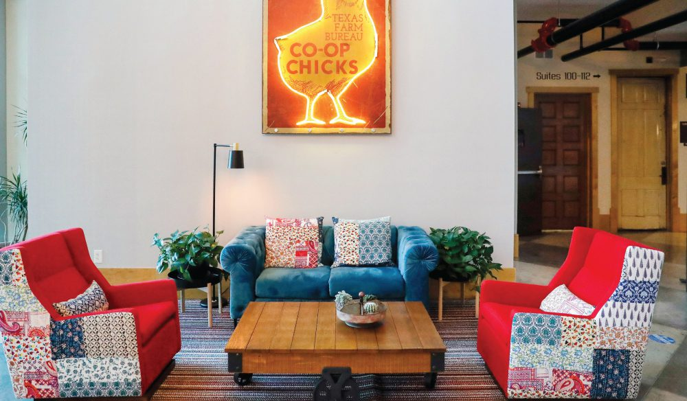 Caddo Office Reimagined coworking space