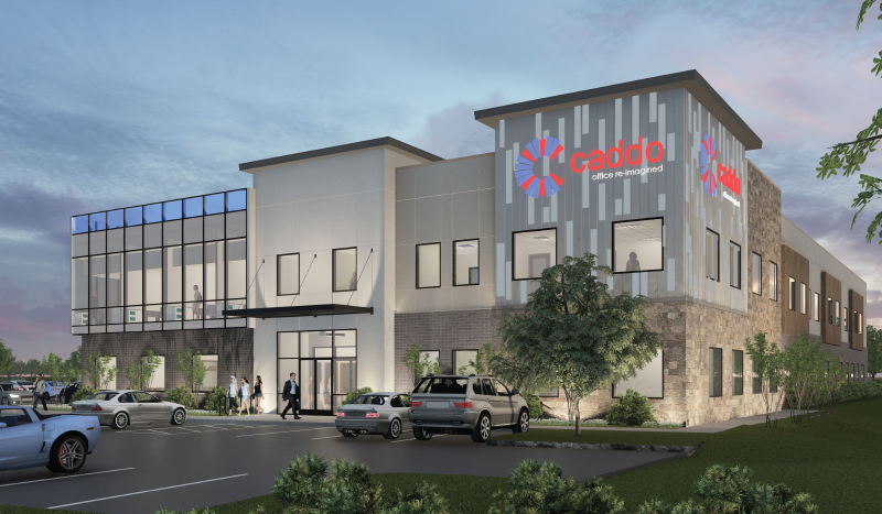Exterior view of Caddo Office Reimagined