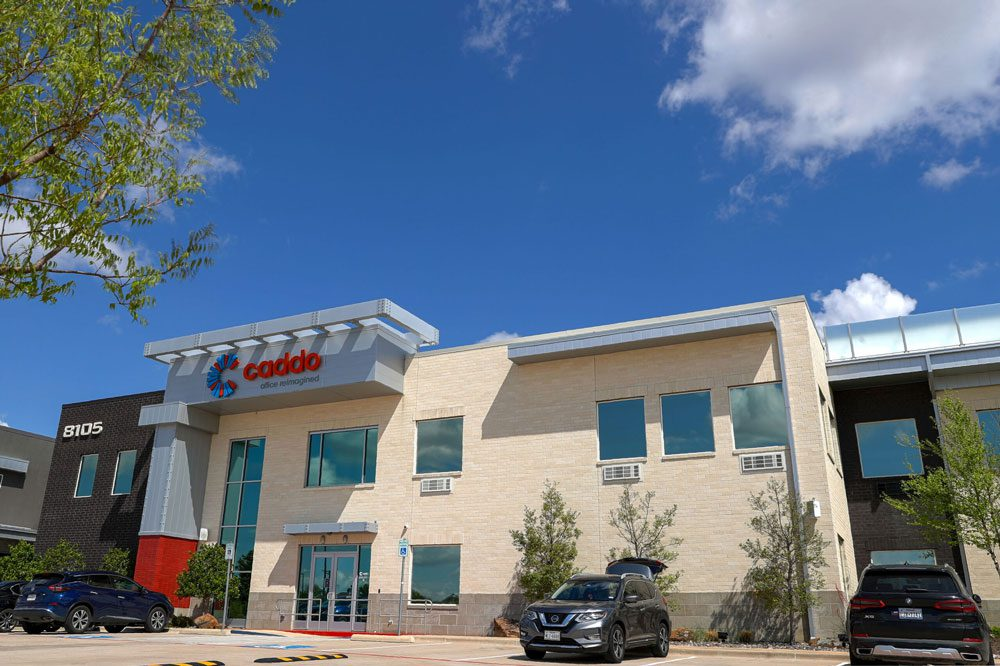 Exterior view of Caddo Office Reimagined, Plano location