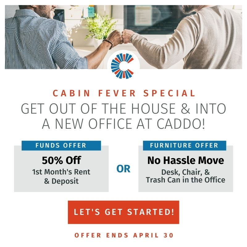 Caddo Cabin Fever Specials
