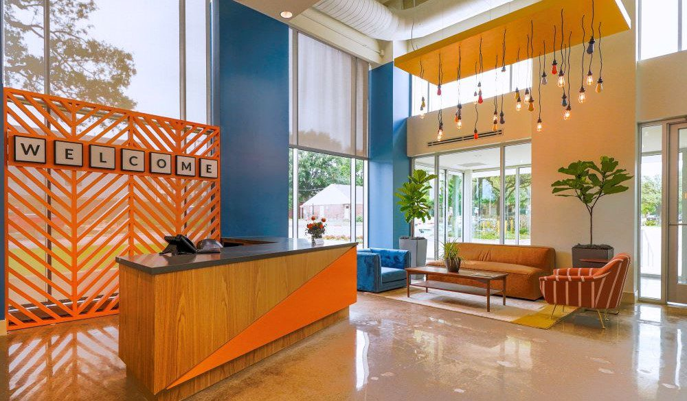 staffed office suite