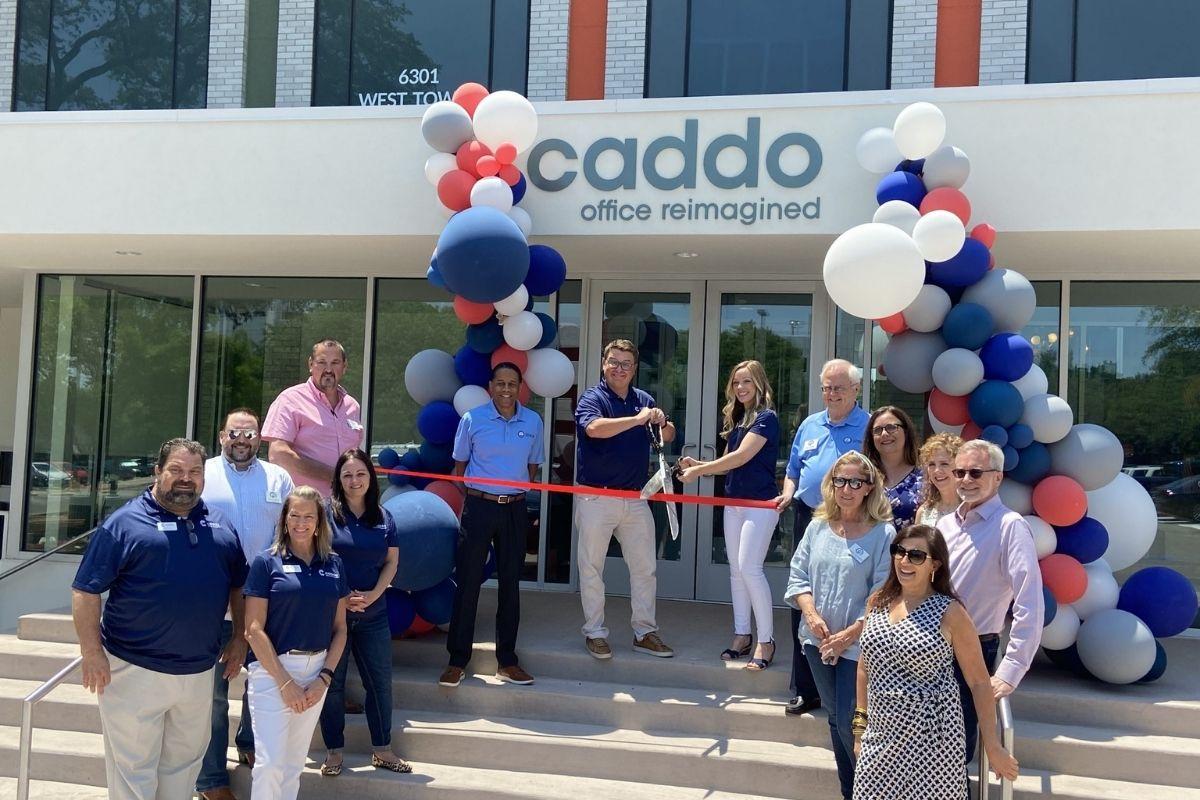 Caddo Lakewood Ribbon Cutting